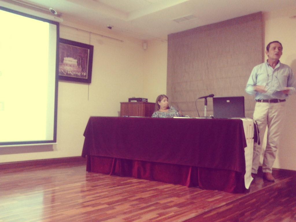 Sesiones y conferencias - AFA Malaga - V