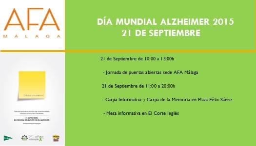 Día mundual del Alzheimer 2015
