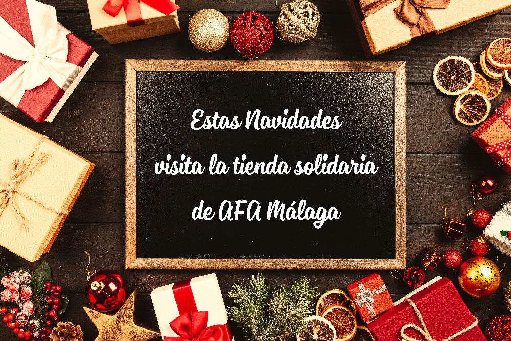 Tienda Solidaria AFA Malaga Navidad