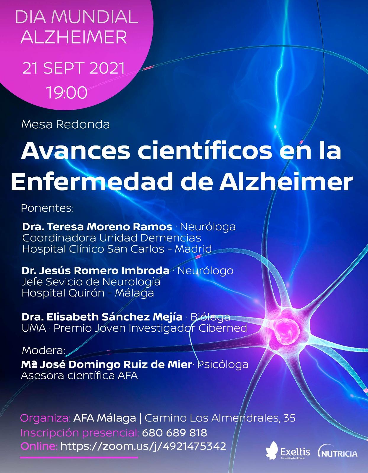 Avances científicos en la enfermedad Alzheimer